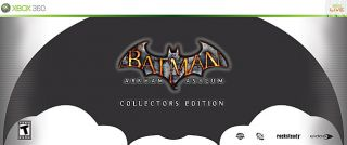 Batman Arkham Asylum Collectors Edition Xbox 360, 2009