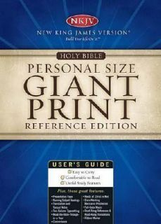 Holy Bible Personal Size Giant Print Reference Edition by Thomas