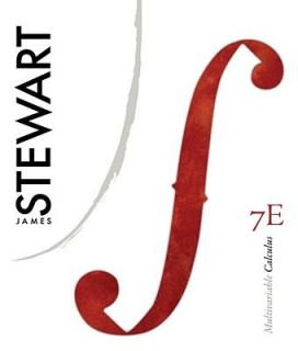 Multivariable Calculus by James Stewart 2011, Hardcover