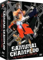 Samurai Champloo   Complete Box Set DVD, 2009, 4 Disc Set