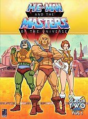 He Man and the Masters of the Universe   Season 2 Volume 1 DVD, 2006