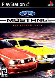 Ford Mustang The Legend Lives Sony PlayStation 2, 2005