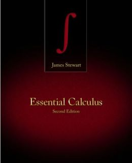 Essential Calculus by James Stewart 2012, Hardcover