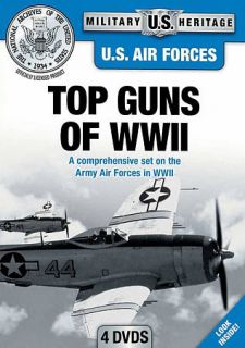 U.S. Air Forces Top Guns of WWII DVD, 2012, 4 Disc Set