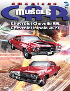 American Muscle Car   Chevrolet Chevelle SS and Chevrolet Impala 409