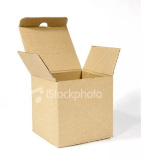 stock photo 3137741 open cardboard box