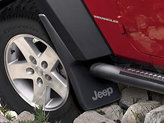 Jeep Wrangler JK 2007 2012 Mopar Splash Guards Mud Flaps OEM FRONT