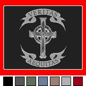 boondock saints irish army catholic cross t shirt s xxl