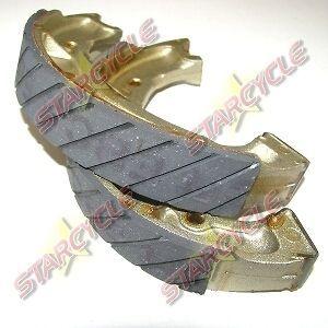 88 90 Yamaha DT 50 U/W/A (DTL/C) EBC Front Grooved Organic Brake Shoes