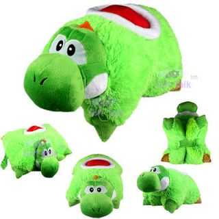 Super Mario Bros Yoshi Transforming Pet Pillow Car Sleep Bed Cushion