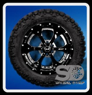 20 BMF NOVAKANE DEATH METAL RIMS & 305/55/20 NITTO TRAIL GRAPPLER