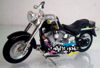 1048 Maisto 118 Harley Davidson FLSTF FAT BOY Diecast Motorcycle