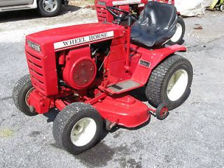 Wheel Horse C 121 Hydrostatic tractor w/ 42 Side Discharge Mower Deck