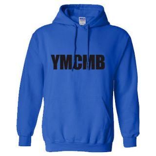 YMCMB HOODIE YOUNG MONEY WAYNE SWEAT SHIRT LIL HIP WEEZY HOP RAP ROYAL