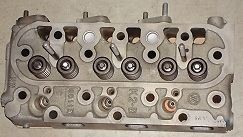 new kubota d1105 engine cylinder head complete w valves time