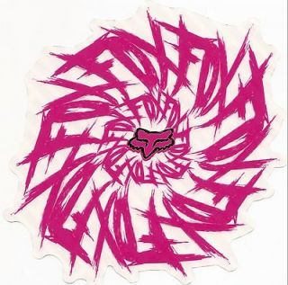 fox racing dizzle sticker pink new from canada time left