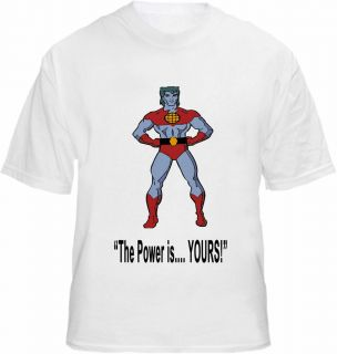 captain planet t shirt in Clothing, Shoes & Accessories