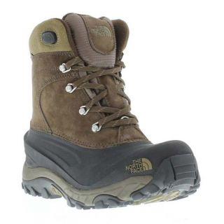 The North Face Genuine Chilkat II Mens Waterproof Walking Boot Brown