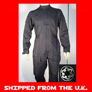 Star Wars TIE Fighter Pilot Costume   Jumpsuit   Quality Replica