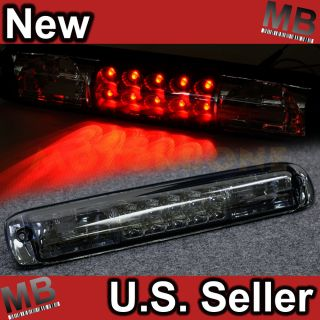 99 05 Chevy GMC SUV 3rd Brake Light Rear Trunk Center Lamp Clear Smoke