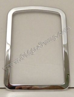 ECO 90 SERIES AIR METER CHROME GLASS BEZEL FREE S&H AM 106