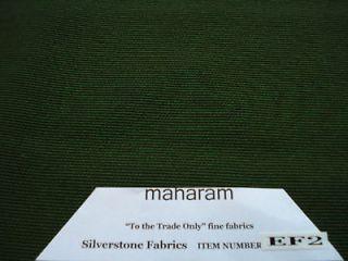 Maharam Retro Mid Century Modern Medium LODEN Upholstery Fabric 5/8y