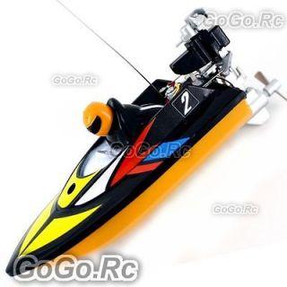 Radio Remote Control RC Mini Racing Speed Boat   Black (HQ953 BK)