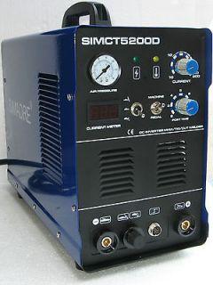 SIMADRE CT5200D 50 AMP PLASMA CUTTER 200 AMP TIG ARC MMA WELDER