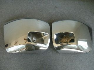 2011 2012 Chevy Silverado 1500 chrome front bumper end caps