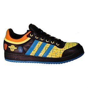 mens adidas top ten lo low day of the dead rare size 8
