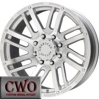 16 Silver AO Spur Wheels Rims 5x139.7 5 Lug Dodge Ram Durango Dakota