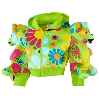 Adidas Originals ObyO Jeremy Scott JS Womens Bear Hoodie Jacket M