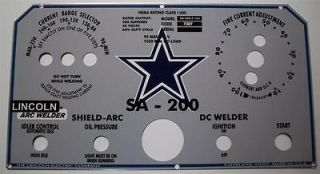 Lincoln Electric Arc Welder SA 200 Part L 5171 Dallas Cowboy Style