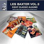 Les Baxter EIGHT CLASSIC ALBUMS Vol 1 New Sealed 4 CD SET