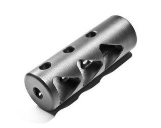 Zombie Tri Delta Steel Muzzle Brake NEW Made in USA 1/2 28 (.224 Bore