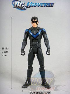 DC Universe Batman Legacy Series 03 Arkham City Nightwing Loose