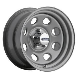 Cragar Wheel Soft 8 Steel Silver 15 x 7 5 x 5.5 Bolt Circle 4