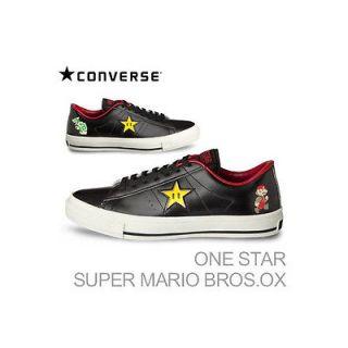NEW CONVERSE ONE STAR SUPER MARIO BROS SC LOW US9.5 28cm WHITE EMS