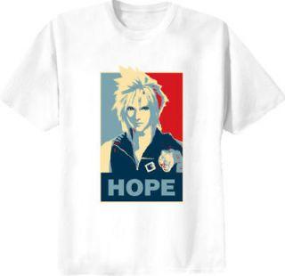 cloud strife final fantasy hope t shirt more options shirt