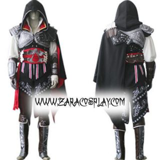 assassin s creed 2 ezio black edition cosplay costume from