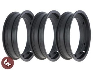 vespa sip tubeless 10 wheel rims x 3 black alloy