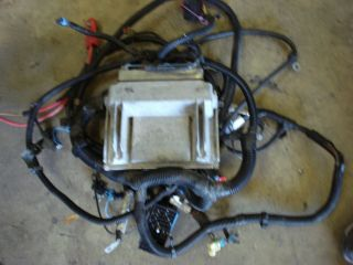 2003 2.2 4 CYLINDER ECM COMPUTER & WIRE HARNESS CHEVY S10 TRUCK 5