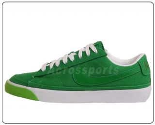 Low Victory Canvas Green White Mens Classic Casual Shoes 371760 304