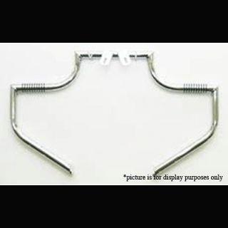 LINDBY CUSTOM FRONT HIGHWAY BARS FOR HONDA VTX1300X 03 09, VTX1300C 04