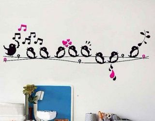 removable wall decals music in Decals, Stickers & Vinyl Art