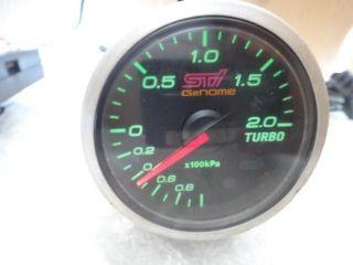 JDM Subaru Impreza WRX GC8 GDB GDBA STI GeNOME Defi Turbo Boost Meter