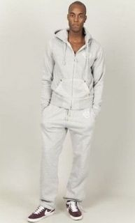 true religion horseshoe qt full tracksuit grey