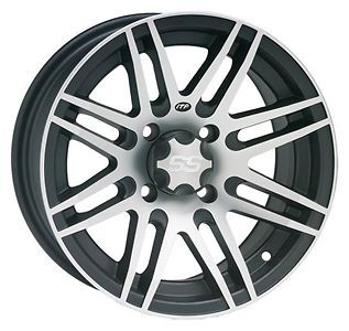 Honda 450/500 Foreman S ES F&R 12 Inch Black w/ Machined ITP SS316 ATV