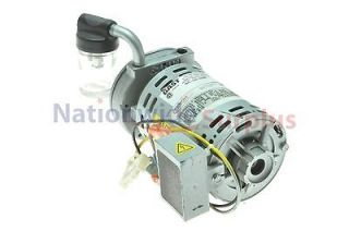 Gast 1/15 HP NSPP Vane Vacuum Pump 3450 RPM 100 115 Volts Model