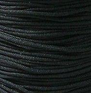 2mm BLACK Nylon Polyester Shamballa Friendship Bracelet Knotting Cord